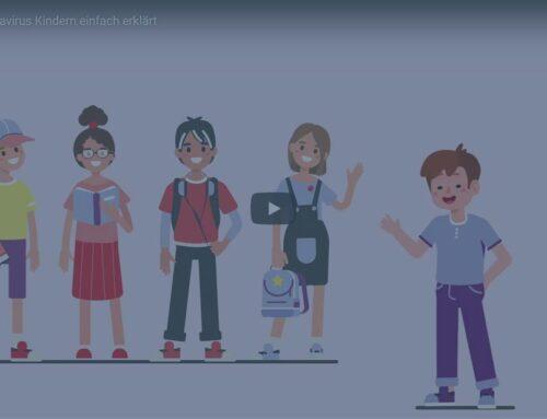 Video: Kindern das Coronavirus und die Lage erklären
